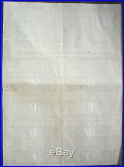 10 Billion 10.000.000.000 Mark German Government Treasury Loan 1923 unc+ coupons