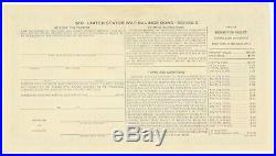 $10 War Savings Bond Series E July 1945 Uncancelled Morgenthau Schwan 231a1 Rare