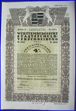 10 x decorative Austrian + German City Bonds all are uncancelled