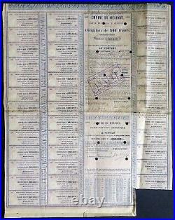 1865 Imperio de Mexico, Maximillian Bond