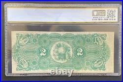1871 $2 Selma Marion Memphis Railroad Alabama-forrest Signature Pcgs Vf-30