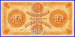 1873 $50 Washington, DC. Baby Bond Scrip ORNATE