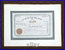 1905 Bull Frog Nugget Mining Co Stock Certificate Bullfrog Nevada (Rhyolite)