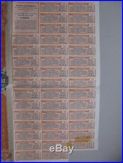 1908 CHINA Imperial Chinese Government 5% Tientsin-Pukow Railway Loan Bond £100