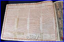 191320Bonds-Chinese government Reorganization loan20 5 PIECES