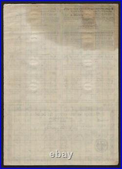 1923 Berlin Germany 1000000 Mark (1 Million Mark) Treasury Bond Schatzanweisung