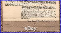 $1M Bd Long Island Motor Parkway, Inc. 1909 Long Island, NY Bult by Vanderbilt