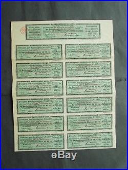 4,5% Mark 1000- NORDDEUTSCHER LLOYD 1908