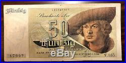 50 DM Deutsche Mark 9.12.1948