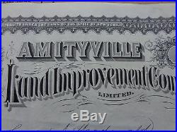 Amityville Land Improvement Company