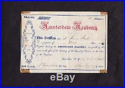 Amsterdam Academy 1869