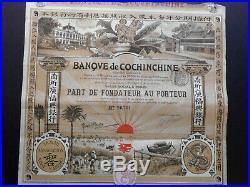 Banque de Cochinchine ca. 1908 Ch. Grabbe