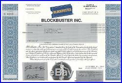 Blockbuster Inc. 2010 Common Stock Certificate