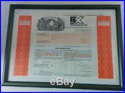 Bre-X Minerals LTD Stock Certificate 100 Shares