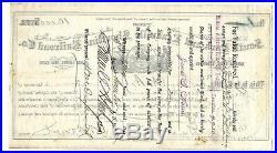 COLORADO SOUTH PARK & LEADVILLE SHORTLINE RAILROAD #1 certificate 1885
