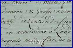 China/Belgium-Austrian East India (China) Co. 1783- loan 1000 guilders -UNIQUE-