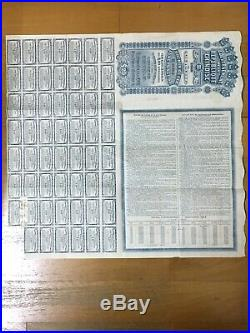 China Chinese Government 1913 Lung Tsing U Hai £20 Bond Loan With Coupons