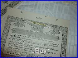 DELOREAN MOTOR COMPANY Docs About STOCK Certificates
