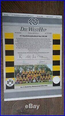 DM 200 6 % Schmuckanleihe Westhyp, unentwertet, Borussia Dortmund, Em. 4209