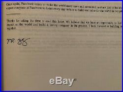 Facebook Stock Prospectus May 3, 2012 Super Rare Boston Ipo Release Zuckerberg