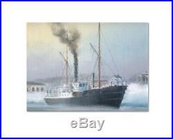 Finnland 1866 Reederei Sydfinska Kust Ångfartygs Shipping Finland Finlande