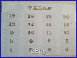 Guatemala 1897 Ferrocarril Railway Ocos German 1000 Mark UNCIRCULATED Bond Loan