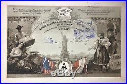 Hochdeko Aktie Prag 1919 Tschechoslowakischen Handelsgesellschaft von Amerika