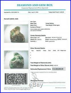 Jadeite Jade Natural Rock Antique China Not Gold Emerald Sapphire Ruby