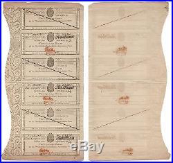Kingdom of Westphalia 1810, 200 Frank Bond, Large Document