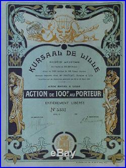 Kursaal de Lille Société Anonym 1902