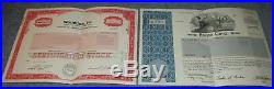 L@@k Lot Of 2 Enron And Worldcom Stock Certificates Mint Condition Folded Sender