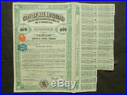 LITHUANIA 3X 5% £20- + £100- + £500- CITY of WILNO (VILNA) now VILNIUS 1931