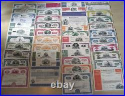 LOT(S) of 3000 RARE ANTIQUE PICTORIAL US STOCKS (30 DIFF) 13.3c! FREE PICKUP NYC