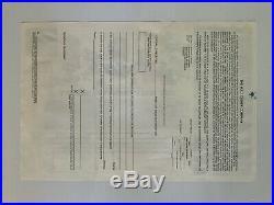 Lot (2) 1998 THE WALT DISNEY COMPANY STOCK CERTIFICATE(S) THREE SHARES EISNER
