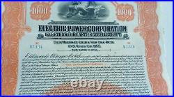 Lot 6x GERMAN GOLDBONDS SINKING FUND GOLD BOND 1000 Dollar EXTERNAL LOAN