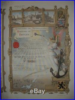 Maritimes de Bruges 1904