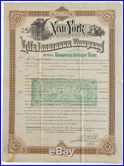 New York Life Insurance Co. Specimen
