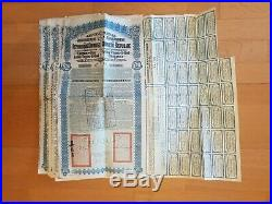 One Lot Of 4 Superpetchili Bond Lung Tsing U Hai 5% 1913 £20