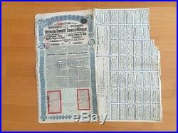 One Superpetchili Lung Tsing U Hai 5% 1913 £20