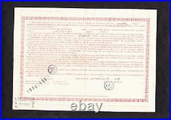 Panama Canal Lottery Loan 1913 Set Comprising Traded In Bonds + Orig. Envelope