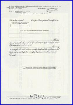 Pepsi-cola General Bottlers Specimen Stock Certificate Scarce 1950-1960 Beverage