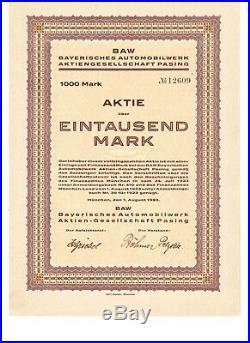 RAR BAW Bayerische Automobilwerke AG 1923 München Pasing