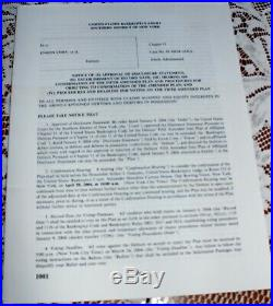 RARE Enron Corp. Common Stock Certificate 2000 shares bankrupt letters framed