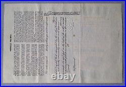 Rare Original Meteor Crater Exploration & Mining Co. Preferred stock certificate