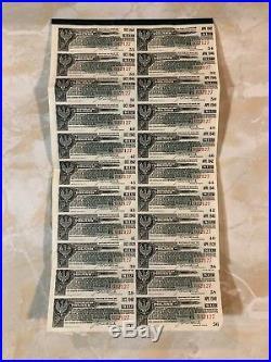 Republic of Poland $50 Dollar Gold Bond 1 April 1920 Due 1940 Rare Issue