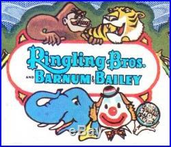 Ringling Bros-Barnum & Bailey Combined Shows specimen Color Stock Certificate