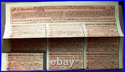 Russian Government 1500 Rubles 3 3/8% Conversion bond, 1898