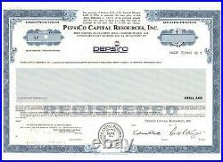 SELTEN PepsiCO Capital Resources Inco Pepsi Cola