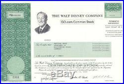 Selten Angeboten Walt Disney GO. Com