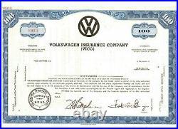 Specimen Volkswagen Insurance Company (VICO)